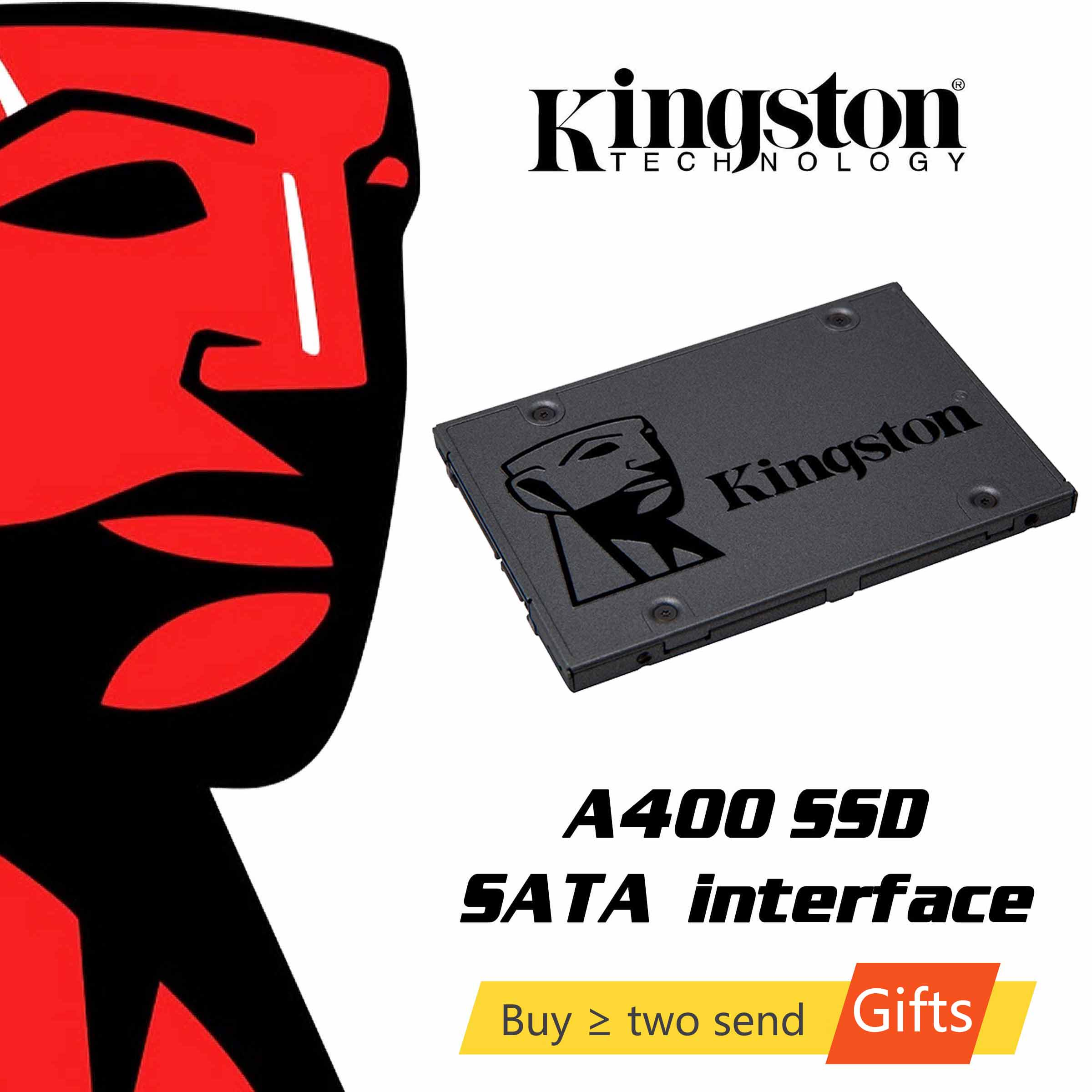 Kingston SSDNow A400 <font><b>120gb</b></font> 240gb 480GB <font><b>SSD</b></font> Solid State Drive 2.5 inch <font><b>SATA</b></font> III 120 240 g Notebook PC Internal HDD Hard Disk image