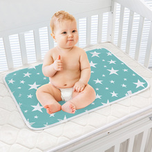 Diaper-Changing-Mat Waterproof Mattress Reusable-Pad-Cover Foldable Infants Cushion Floor-Mats