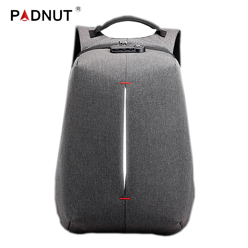 Smart Backpack Travel Anti Theft Men Bagpack USB Charging School Student Laptop Bag Anti-theft Large Capacity Male Bags Notebook