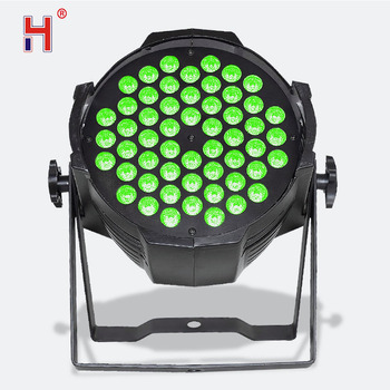 54X3W Led Par Lights Stage Effect Lighting Led Rgb Dmx Stage Wash Dmx512 For Events Club Wedding Party Show 1200w dmx confetti blower stage effect cannon led 12x3w rgb confetti machine for disco party wedding show christmas decorations