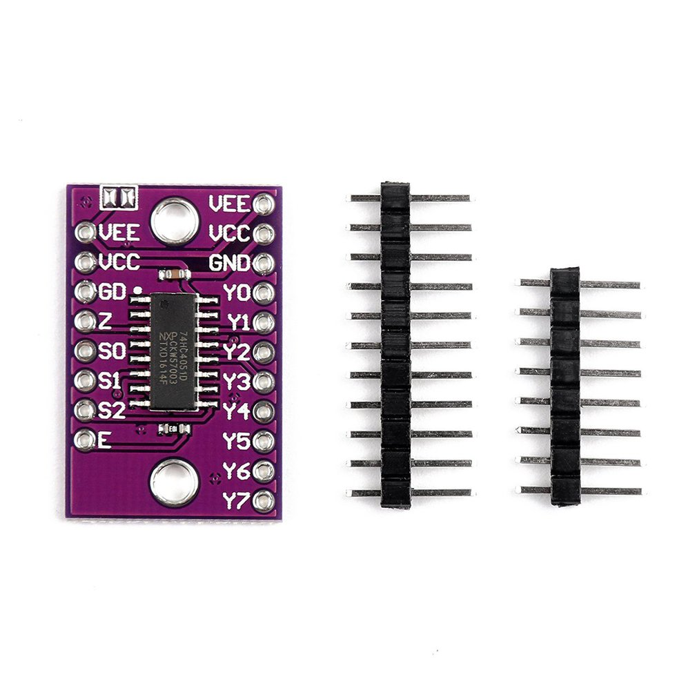 Cjmcu-4051 74Hc4051 8 Channel Analog Multiplexer Module