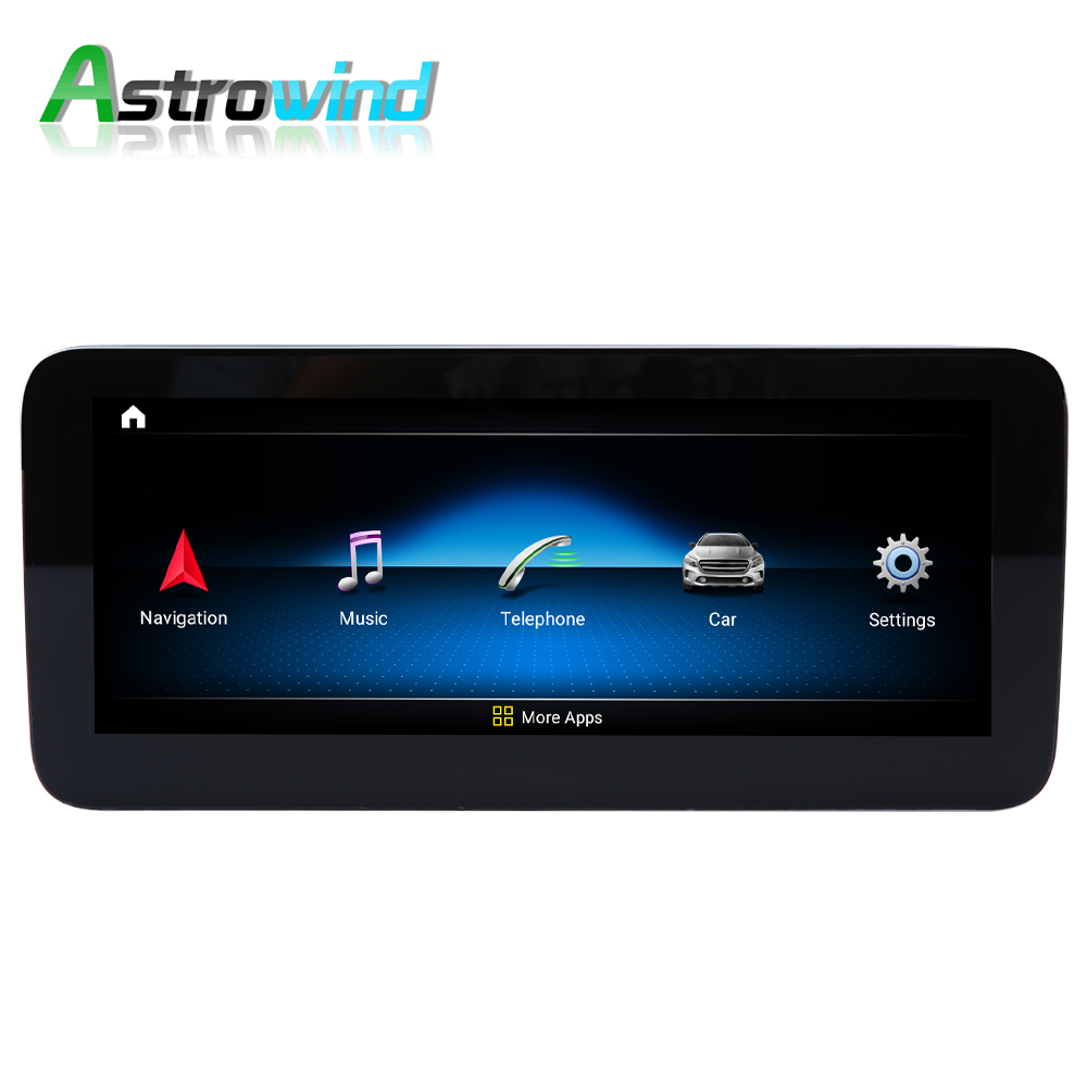 D-1208,10.25 inch 64G ROM <font><b>Android</b></font> 9.0 System Car GPS <font><b>Navigation</b></font> Media Stereo Radio For Mercedes-Benz C <font><b>W204</b></font> 2011 2012 2013 2014 image