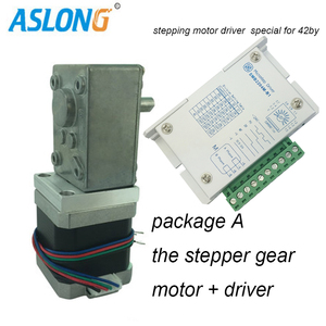 Worm Gear Stepping Motor With