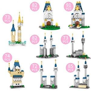 Image 3 - 632 pcs Castles Building Blocks Compatible Lepining Girls Friends Princess Enlightenment Brick Toy