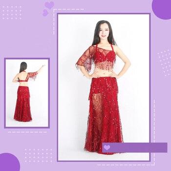 3pcs/set Belly Dance Costumes Oriental Dance Suit BellyDance Costumes Carnival Dance Costumes #ZY-1198
