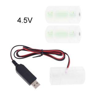 Image 4 - D Batterij Eliminator Usb Voeding Kabel Kan Vervangen 1 Tot 4 Stuks LR20 D Batterij