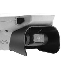 Image 2 - Lens Hood parlama önleyici Gimbal kamera Guard Lens kapağı güneşlik koruyucu kapak için DJI Mavic Mini/Mini 2 Drone aksesuarları