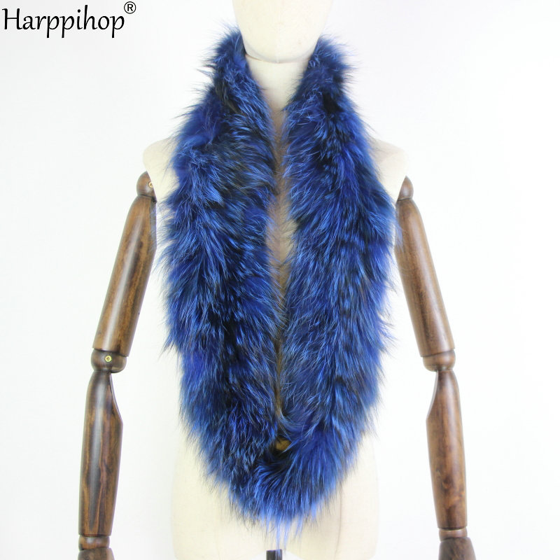 Winter Versatile Warm Fur Collar Fox Fur Scarf Woven Silver Fox Fur Real Hair Double Ring Big Collar Collar