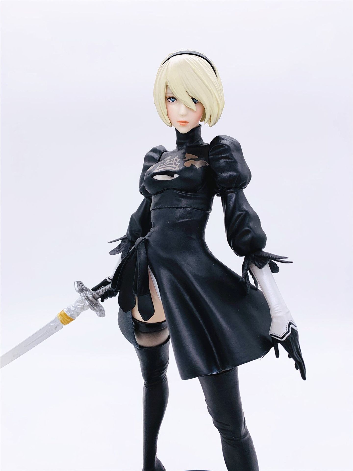 Anime Game NieR: Automata 2b YoRHa No.2 Type B PVC Action Figure Cartoon Model Collectible Toys Doll Lelakaya Dropshipping 30CM