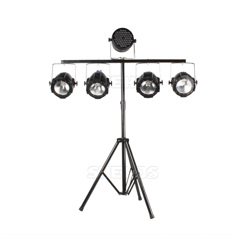 SHEHDS Free Shipping Stage Lighting Stand Durable And Portable  Bracket With Carry 5 Lights Stable Tripod