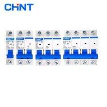 CHINT NXB-63 1P 2P 3P 4P 1A 2A 3A 6A 10A 16A 20A 25A 32A 40A 63A миниатюрный автоматический выключатель дом переменного тока выключатель с указанием DZ47