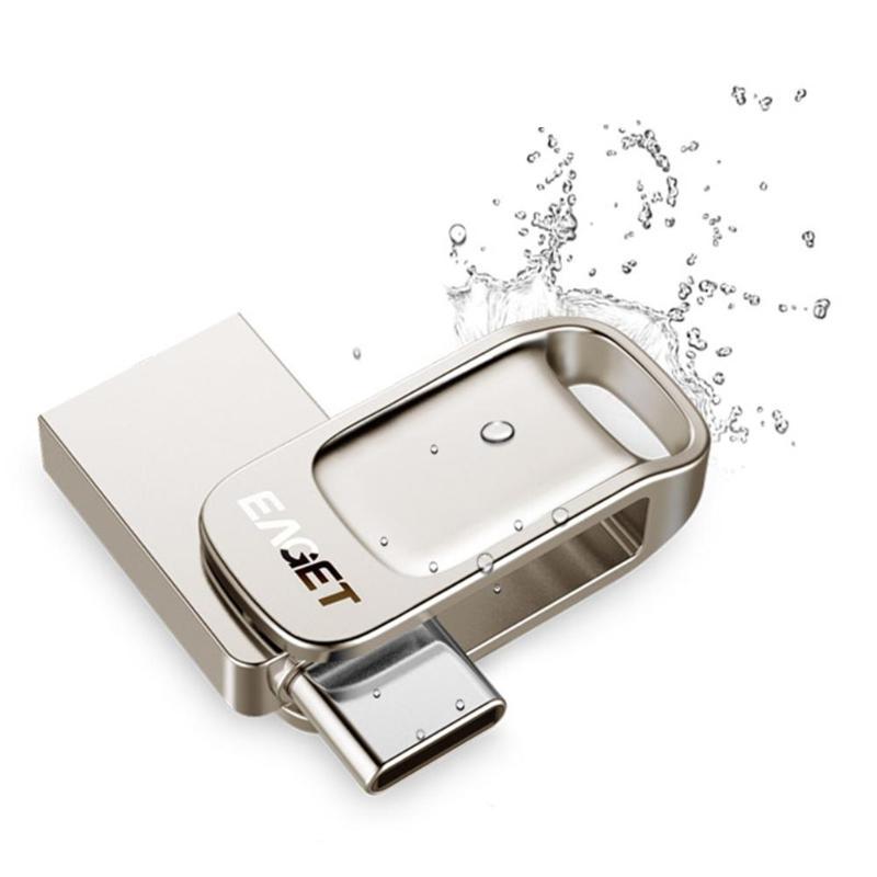 Mayor CU31 de Metal USB 3,0 Flash Drive de almacenamiento de memoria Stick U disco para teléfono OTG tipo C Pen Drive para computadora móvil
