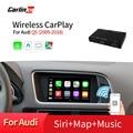 Carlinkit Wireless/Wired Apple Carplay Decoder for Audi Q5 MMI 2009-2018 muItimedia interface CarPlay Android auto Retrofit Kit