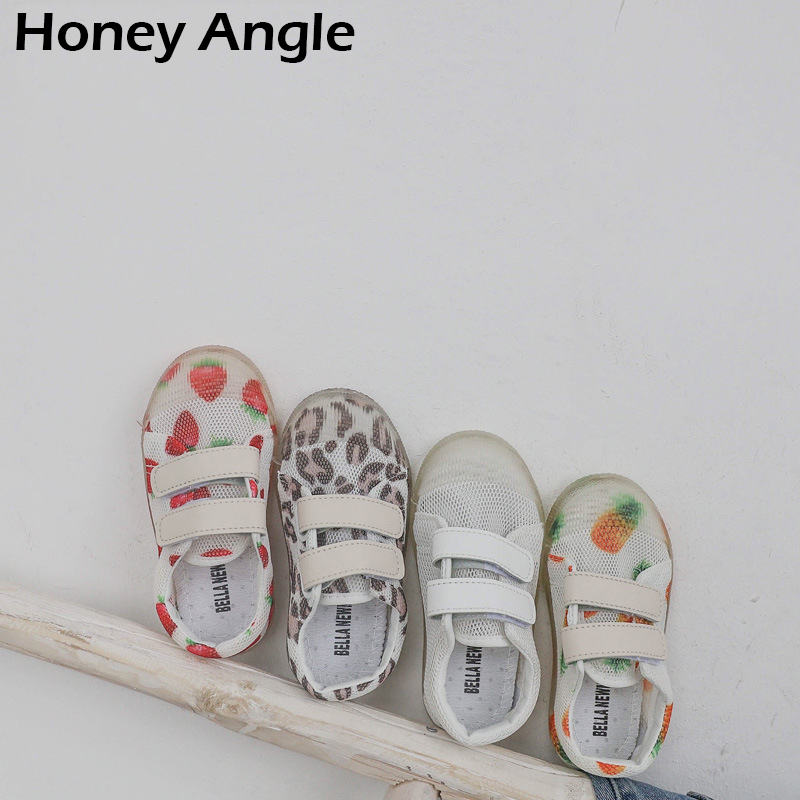 New Fashion Summer Casual Kids Shoes For Girl Boy Korean Version Mesh Breathable Children Shoes Spring Autumn Sport Shoe
