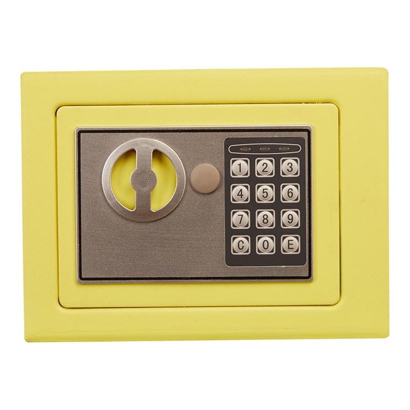 Mini Safety Box Drop Cash Safe Box 2