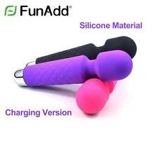 QT-007 feminino 10 frequências vibrador silicone masturbação vara brinquedos adultos, estilo: versão de carregamento