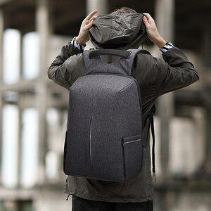 Image 2 - Splashproof Oxford 15.6inch Laptop Backpacks Anti Theft Men Backpack Travel Teenage Backpack bag male bagpack mochila School Bag