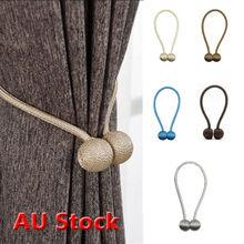 Сильные магнитные шарики для штор подхваты для галстука сзади пряжки зажимы Holdbacks Home