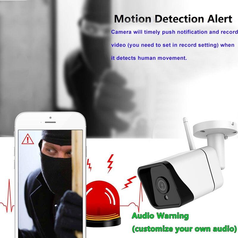 3MP Menschlichen Erkennung Tracking WiFi IP Kamera Wasserdichte Outdoor CCTV Überwachungs Kamera HD Nachtsicht