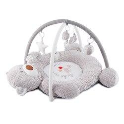 Multifonction bébé musique jouer jeu couverture bébé tissu Fitness support rampant tapis de gymnastique avec des jouets éducatifs 0-2 ans