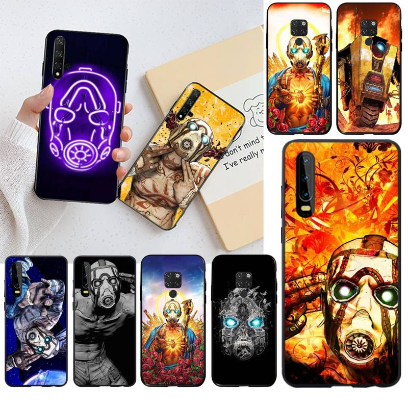 HPCHCJHM Hot Video game <font><b>Borderlands</b></font> Phone Case for Huawei P40 P30 P20 lite Pro Mate 20 Pro P Smart 2019 prime image