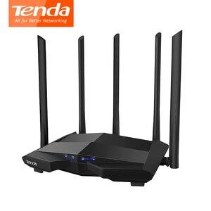 Image 5 - Tenda AC11 1200Mbps Wireless WiFi Router,1GHz CPU + 128M DDR3,1WAN + 3LANพอร์ตGigabit,5 * 6dBiเสาอากาศรับสัญญาณสูง,สมาร์ทAPPจัดการ