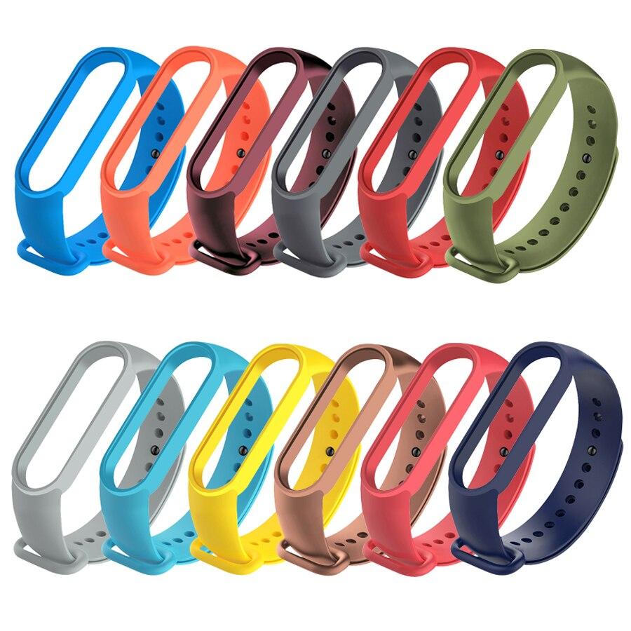Daruyne для Xiao mi Band 5 спортивные часы с ремешком силиконовый ремешок для Mi band 5 браслет mi band 5 ремешок|Смарт-аксессуары|   | АлиЭкспресс