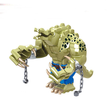 1Pc Crocodile Blocks Wild Animal Figure Set Building Bricks DIY Educational Toys for Children