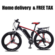 26 Inch Elektrische Fiets Elektrische Mountainbike Lithium Batterij E-Bike 27 Speed Aluminium Ebike350W36v13ah Fabriek Direct