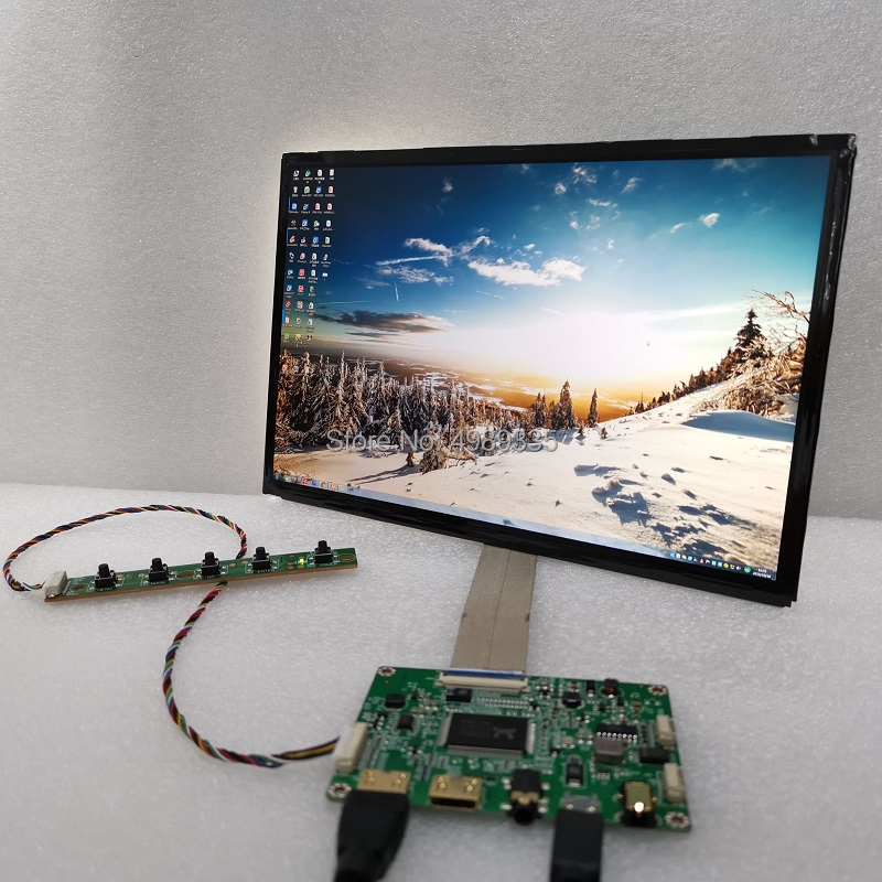 10.1 Inch 2K Display Module Group Kit IPS VVX10T025J00 HDMI DVI VGAUSB5VDC12V Two Power Supply Scheme Resolution 2560X1600 16:10