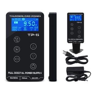 Image 4 - タトゥー電源hp 2 アップグレードタッチスクリーンTP 5 インテリジェントデジタル液晶タトゥーマシン用品セット