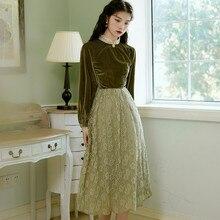 Новая модная женская одежда винтажное платье платья