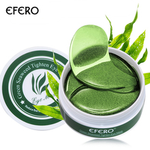 Collagen Eye Mask 60pcs  Anti Wrinkle Bags Dark Circles Puffy Green Gel Eyes Patches Serum Repair Pads efero