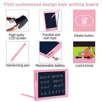 Электронный детский планшет для рисования Prograce 8,5 дюймов 3