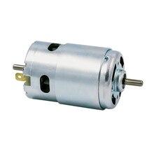 цена на 895 double shaft motor high power 12V24V 5000-10000RPM DC high torque motor double ball bearing high speed