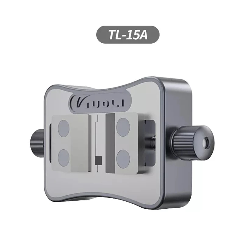TUOLI TL-15A Universal IC Glue Remove Fixture 1.5-20mm Size Double-Bearings Fixture for Mainboard IC Chip Remove Glue Clamp 5