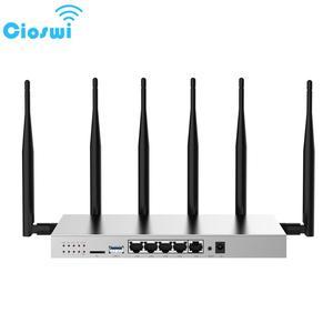 Bezprzewodowy Router wi-fi Cioswi WG3526 z modemem 3G 4G Lte gniazdo karty SIM mocny i stabilny sygnał Wifi duża pamięć RAM działa płynnie Router