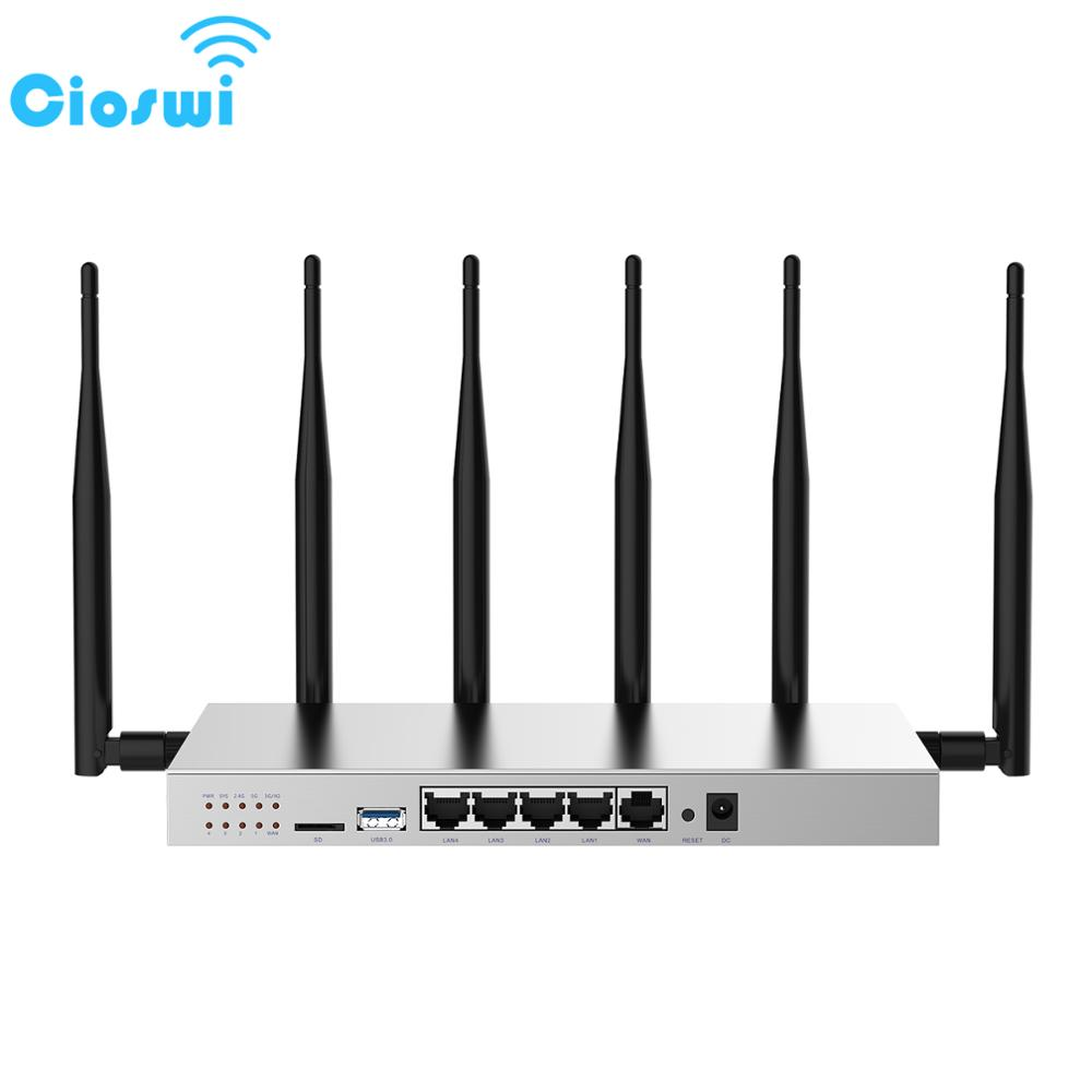 Cioswi WG3526 Wireless Wifi Router With 3G 4G Lte Modem SIM Card Slot Strong & Stable Wifi Signal Large RAM Run Smoothly Router