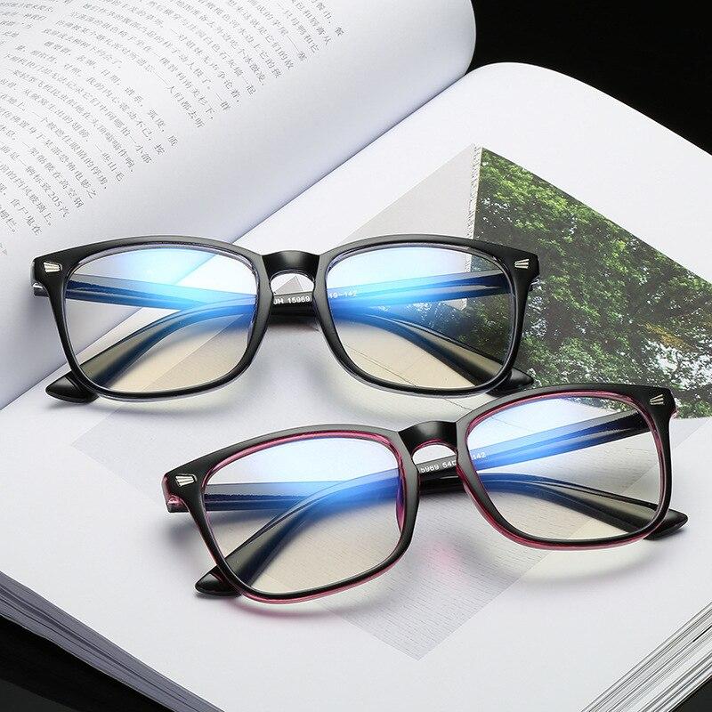 Blue Light Glasses Men Computer Glasses Gaming Goggles Transparent UV400 Protection Eyewear Frame Women Anti Blue Ray Eyeglasses