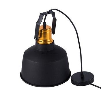 New Arrived LED Pendant lights Vintage Loft E27 Hang lamp and 12W Pendant Lamps Aluminum dining lamp Wood Hanging Lightings 2