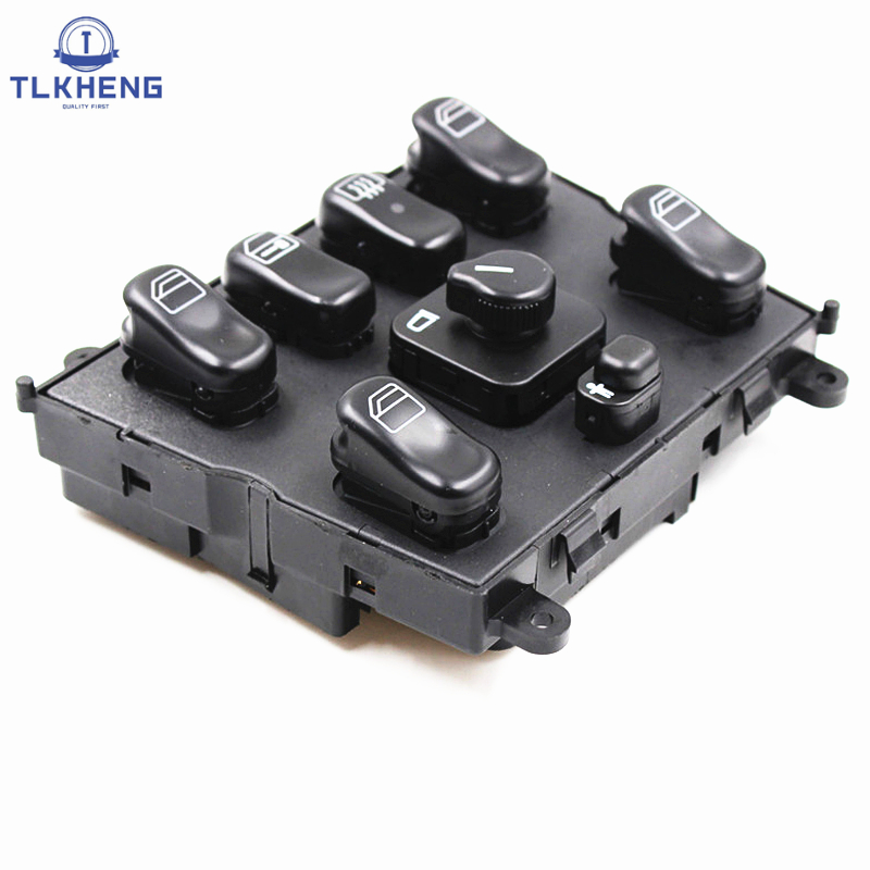 1638206610 New Power Window Switches Electric Window Control Switch <font><b>For</b></font> Mercedes Benz W163 ML270 ML320 <font><b>ML430</b></font> ML55AMG 1638200910 image