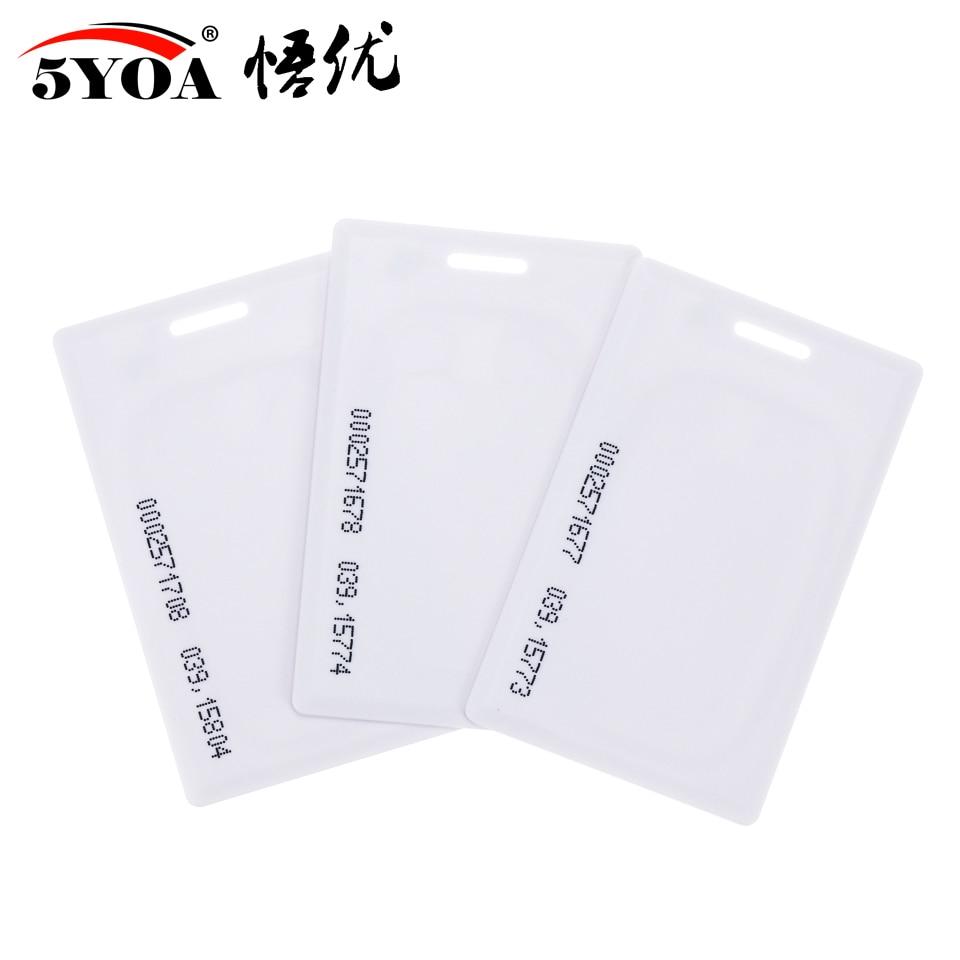 He4eace6b4c8444e9bd5a7498d3be17a8t 10pcs 1.8mm EM4100 Tk4100 125khz Access Control Card Keyfob RFID Tag Tags Key Fob Token Ring Proximity Chip