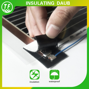 High Sticky Waterproof Insulation Daub Floor Heating Film Accessories Sealed Joint Insulation Clay For Electric Cable