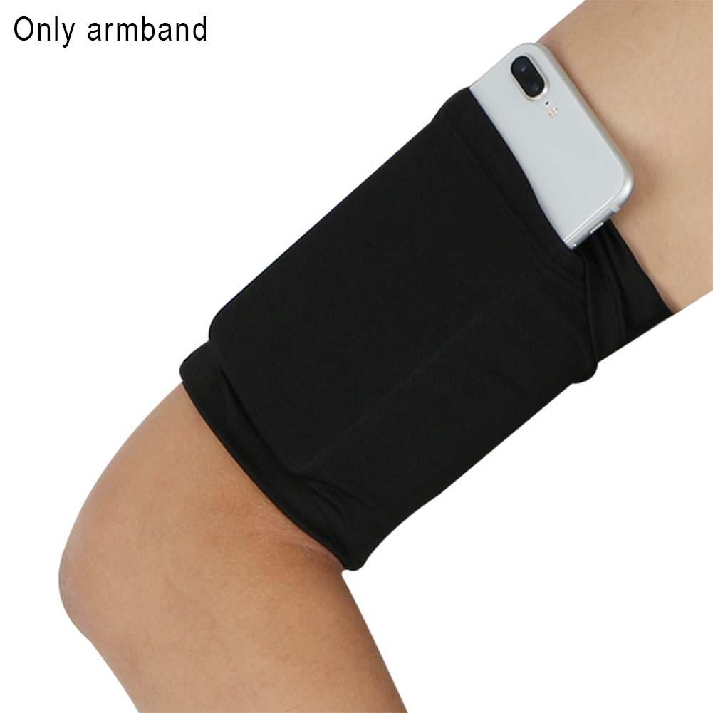 Armband Bag Outdoor Sport Phone Holder Run Pocket Practical Jogging Hiking Adjustable Strap Unisex Wrist Bags