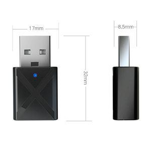 Image 4 - מיני Bluetooth 5.0 אודיו מקלט משדר 3.5Mm Aux אלחוטי מתאם עבור רכב Pc טלוויזיה רמקול אוזניות Usb כוח