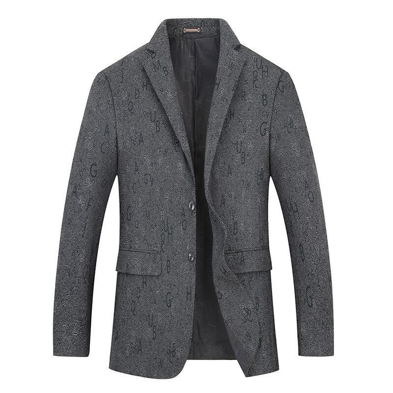New Big Plus Size 8xl 7xl 6xl Fashion Blazer Mens Casual Jacket Solid Color Cotton Men Blazer Jacket Men Classic Mens Suit Coats