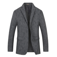 New big Plus Size 8xl 7xl 6xl Fashion Blazer Mens Casual Jacket Solid Color Cotton Men Blazer Jacket Men Classic Mens Suit Coats(China)