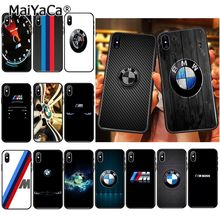 MaiYaCa BMW car logo Phone Accessories Case for iPh