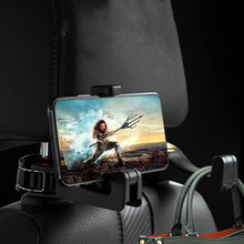 Car Headrest Hook Phone Holder