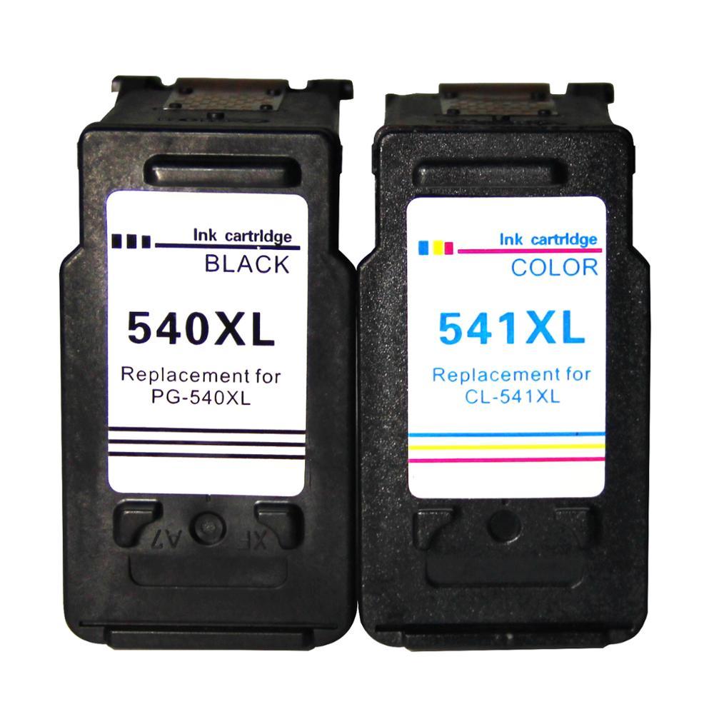 Uyumlu Canon PG-540 CL-541 XL uyumlu mürekkep kartuşları Canon Pixma MG3650 3150 3500 4250 MX475 395 515 525 395
